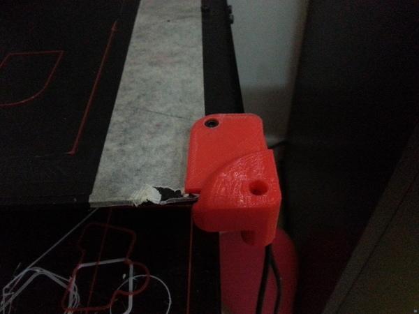 Printrbot Simple Corner Accessory Mount