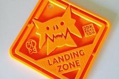 Monster Landing Zone Tag
