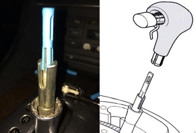 Audi/VW Shift Pull Rod Fix