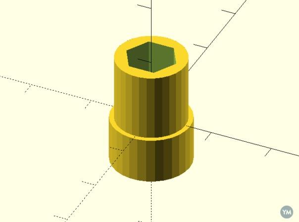 Parametric Hex Socket