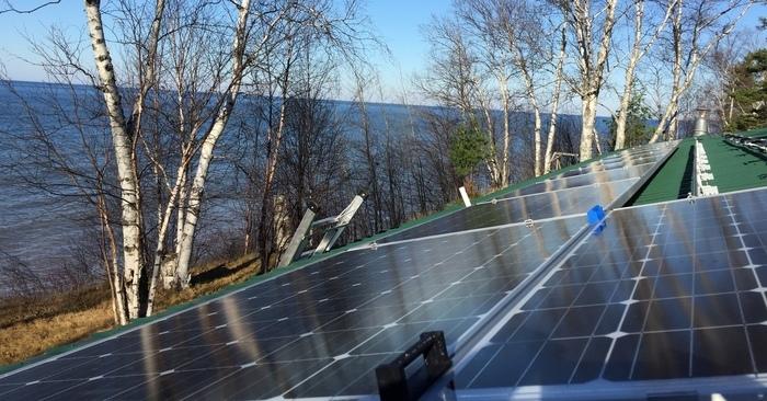 Photovoltaic module spacer