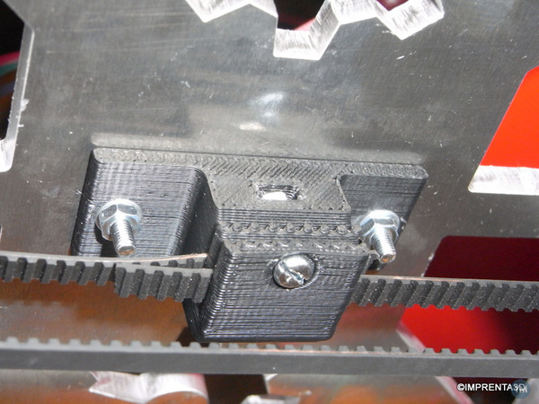 Clip for T2.5 belt for Prusa I3