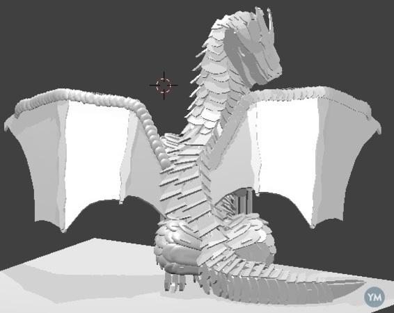3d Puzzle Dragon