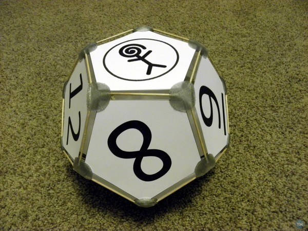 Dodecahedron Die (picture frame)