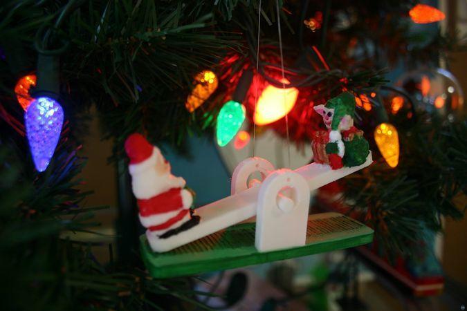 Seesaw Ornament
