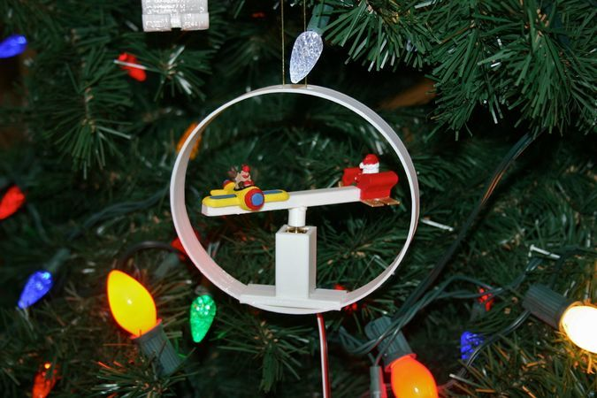 Engineer's Supercapacitor Santa
