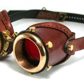 Span2 steampunk goggles   saddle brown leather by ambassadormann d59c80o