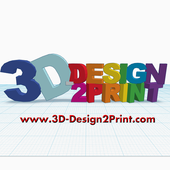 3D-Design2Print Logo