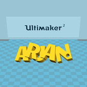 UM2+ Feeder bracket for the Ultimaker2 railsystem (U2RS)