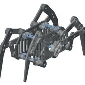 KL-204 octopode Spider Robot