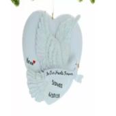 Span2 custom memorial pet ornament