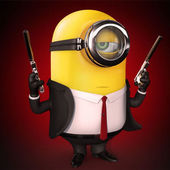 Span2 minion james bond hitman