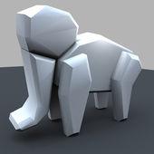 Span2 origami elefant