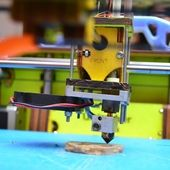 Span2 printing with a 3d printer at makers party bangalore 2013 11 4x4