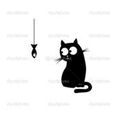 Span2 depositphotos 5140986 black cat and fish