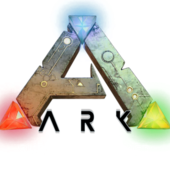 Span2 ark survival evolved wallpaper logo fond blanc